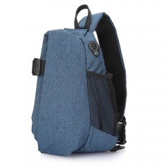 Free Knight Water-resistant Chest Bag for Outdoor  BLUE