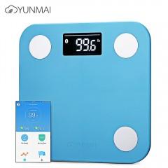 YUNMAI Mini 1501 Smart Fat Scales Bluetooth 4.0 AP BLUE INTERNATIONAL VERSION