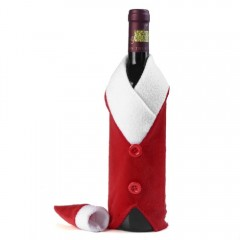 Yeduo Christmas Red Wine Bottle Bag Cover Bags Din RED