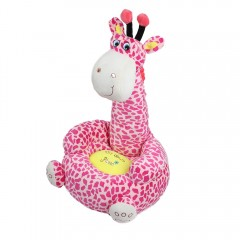 Cartoon Children Small Seat Sofa Nest Chair Giraff PINK