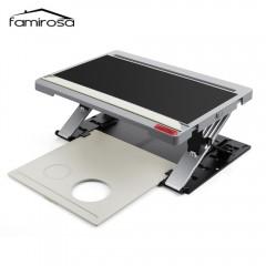 Famirosa Portable Laptop Computer Standing Desk Ta BLACK