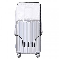 Clear PVC Suitcase Cover Protectors h Luggage Cove TRANSPARENT 22