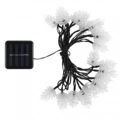 VCT - SLC - 040 20 LEDs Pine Cone Solar String Lig BLUE