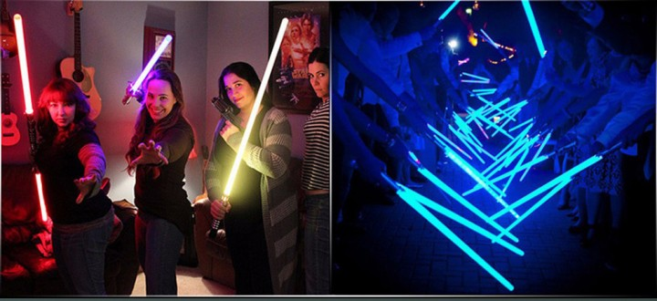 YWXLight Double Sided RGB LED Light Sword