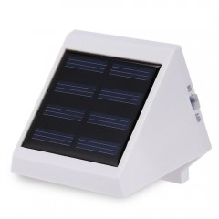 4 LED Solar Outdoor Garden Lamp Light WHITE LIGHT