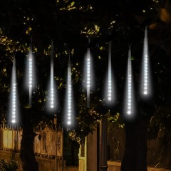KWB 50CM Falling Rain Christmas Lights Waterproof  WHITE EU PLUG