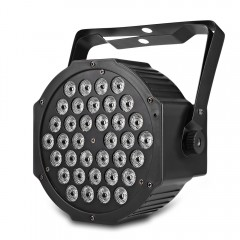 HP005 / 2A - M RGB 36 LEDs Digital Display Par Lig BLACK US PLUG