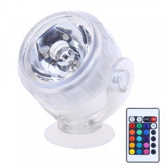 Aquarium LED Spotlight RGB Fish Tank Diving Light  WHITE US PLUG