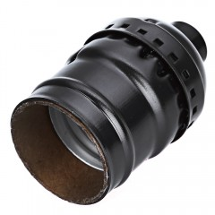E27 250V Socket Edison Retro Pendant Screw Lamp Ho BLACK