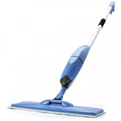 W-T068 2 in 1 Water Spray Sweeping Mop Practical A BLUE
