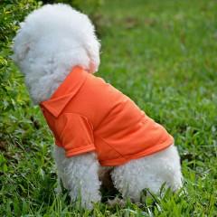 Pet Puppy Summer Shirt Small Dog Cat Clothes Costu ORANGE S