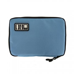 Cable Organizer Electronics Accessories Travel Bag CADETBLUE