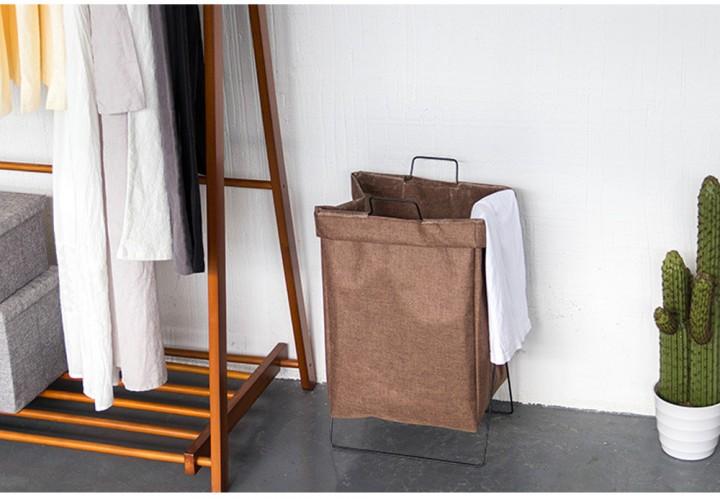 Foldable Linen Storage Laundry Basket