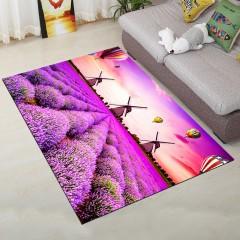 Fashion Personality Lavender Design Living Room Ca PURPLE 80X120CM