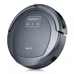 Inlife ZK8077 Robotic Vacuum Cleaner Virtual Block GRAY UK PLUG