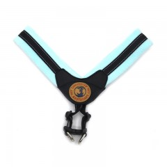 Lovoyager LVHA161223 Soft Plush Pet Collar Warm Ha BLUE S
