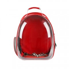Portable Outdoor Capsule Ventilated Backpack with  LOVE RED