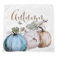 Pumpkin Pillow Case Thanksgiving Decor Sofa Waist  WHITE PATTERN 1