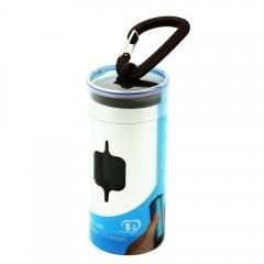 7828/Aluminum Poop Bags Dispenser SILVER