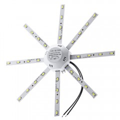 16W 1200LM 32LEDs 5730SMD LED Ceiling Lamp Octopus WHITE