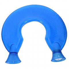 U Type Hot Water Bottle BLUE