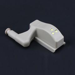 Electronic Smart Inducted LED Cabinet Hinge Light  WHITE