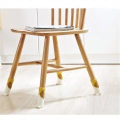 Creative 4 Cute Dog Print Foot Prints Chair Leg Co BROWN