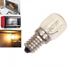 Oven Light Bulb E14 15W High Temperature 300 Degre YELLOW AC220-240V