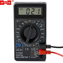 WHDZ DT830B Digital Multimeter AC DC Voltmeter Tes BLACK