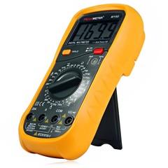 PEAKMETER MY60 Digital Multimeter AC DC Voltage Cu YELLOW AND BLACK