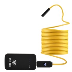 33 feet Wireless Industrial Endoscope with 6 Adjus YELLOW AND BLACK