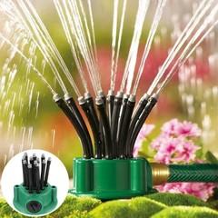 360 Degree Automatic Multi-Head Garden Sprinkler PINE GREEN