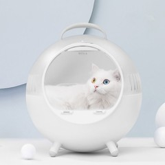 Cat Moving Castle Carrying Bag Nest from Xiaomi youpin WHITE