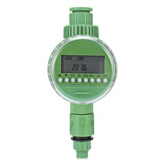 Automatic Intelligent Watering Timer Irrigation Controller with LCD Display JUNGLE GREEN