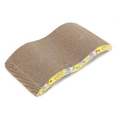 Corrugated Paper Cat Scratch Board Bed Mat Claws Care Toy MULTI M TYPE