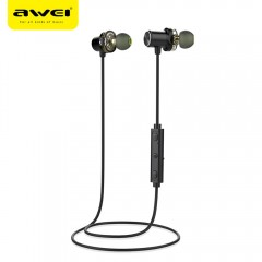 Awei X650BL Magnet Attraction Bluetooth 4.1 Sports BLACK
