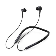 Xiaomi LYXQEJ01JY Bluetooth Earphones Necklace Spo BLACK