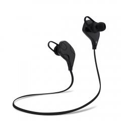 QY7SWireless Bluetooth V4.1 Sport Earphones Headp BLACK