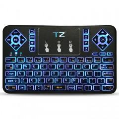 TZ Q9 Wireless Mini Keyboard BT3.0 Backlight Funct BLACK