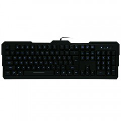 AULA Dragon Tooth II Wired USB Gaming Keyboard 104 BLACK