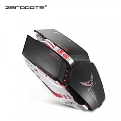 ZERODATE X700 Wired Gaming Mouse with LED Light 32 BLACK