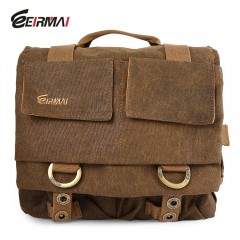 EIRMAI SS05 Compact Water-resistant Canvas Camera  COFFEE SIZE M