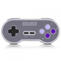 8Bitdo SN30 Gamepad Game Controller Wireless Compa PURPLE