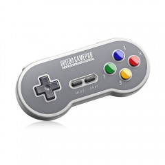8Bitdo SF30 Wireless Controller with 2.4G NES Rece GRAY