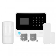 GS - G90B Plus GSM WiFi / GPRS / SMS 2.5 inch LED  WHITE AND BLACK US PLUG