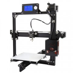 Anet A2 Plus Aluminum Metal 3D Three-dimensional D BLACK US PLUG
