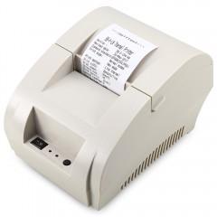 ZJIANG ZJ - 5890K - LN Portable Printer Bluetooth  WHITE EU PLUG