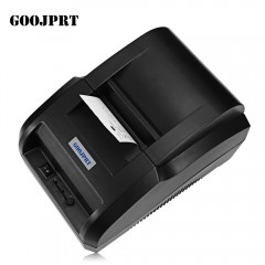 GOOJPRT JP58H Portable Printer Bluetooth Thermal R BLACK CN PLUG