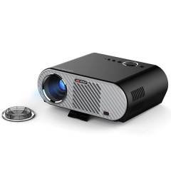 VIVIBRIGHT GP90 Projector 3200 Lumens Home Theater BLACK EU PLUG