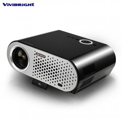 ViViBRiGHt GP90 Video Projector Home Theater 3200  BLACK UK PLUG